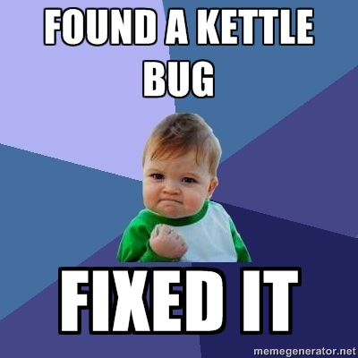 Found a Kettle bug